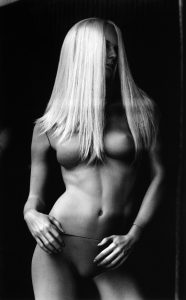 """Untitled, 2013 - from the series """"The Others"""". Selenium toned silver gelatin print."""