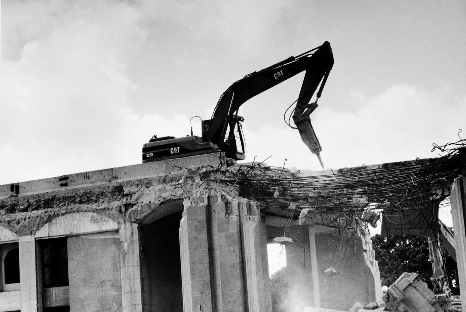 VVF192 - Demolition of City Gate,May 2011 Chlorobromide silver gelatin print.